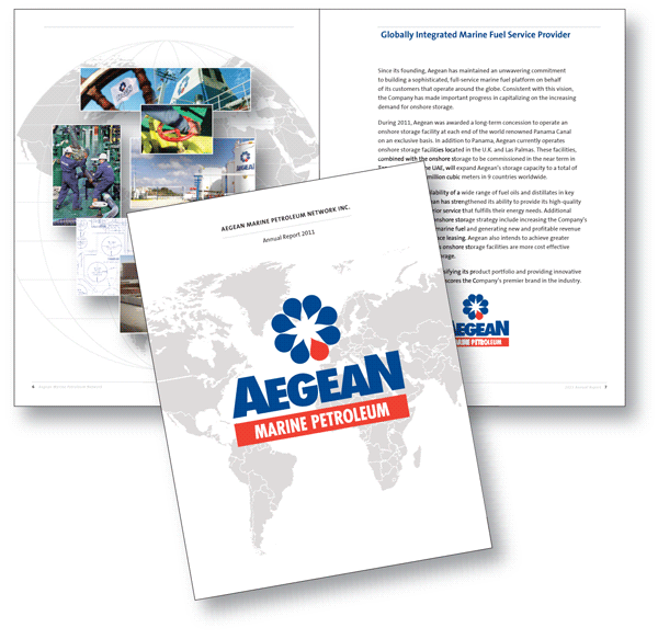 Showcase: Aegean Marine Petroleum Network Inc. 2011 Annual Report