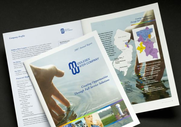 Showcase: Middlesex Water Company 2007 Annual Report