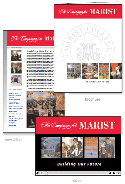 Showcase: Marist Capital Campaign Collateral Material