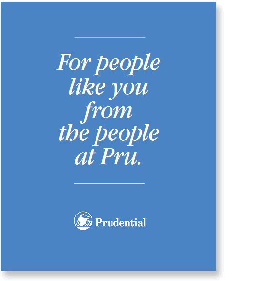 Showcase: Prudential Marketing Folder